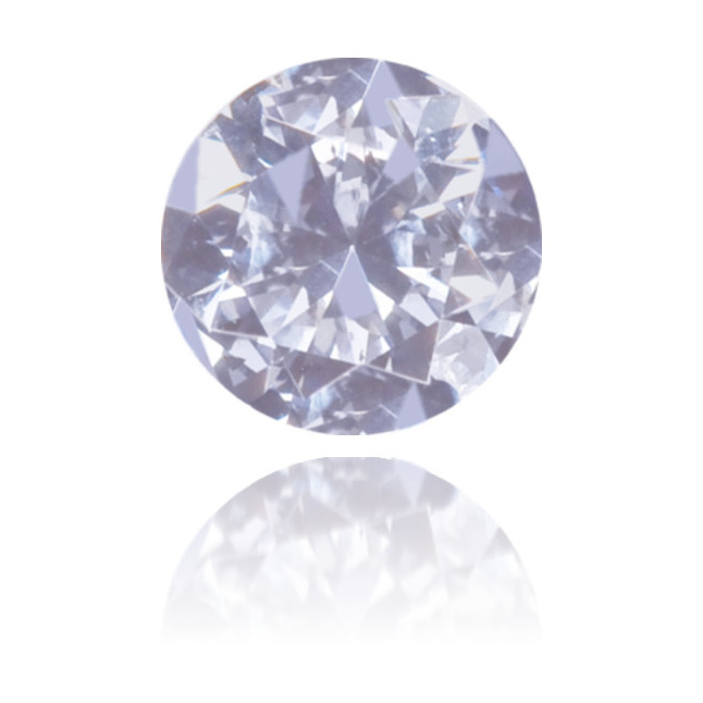 Natural Blue Diamond Round 0.11 ct Polished