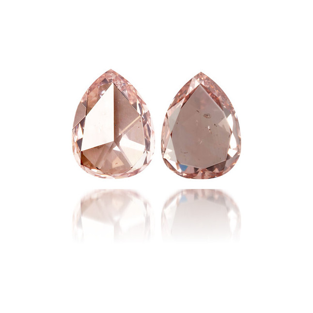 Natural Pink Diamond Pear Shape 0.30 ct Polished