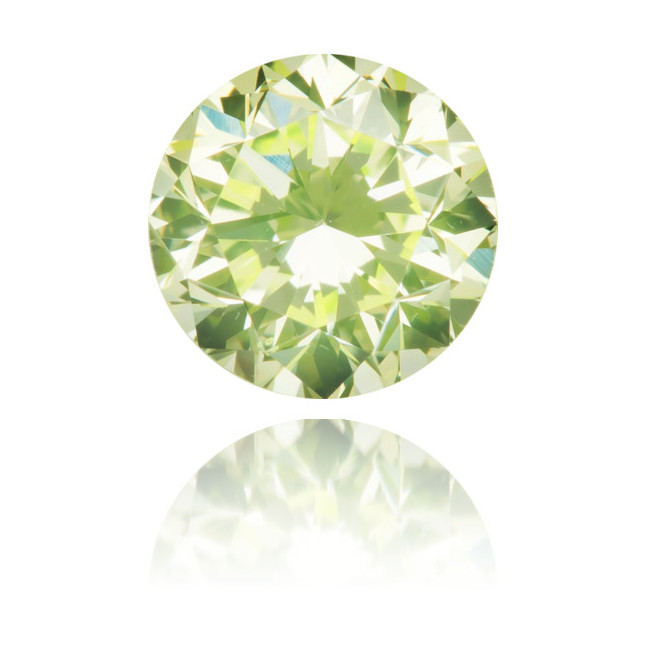 Natural Green Diamond Round 0.31 ct Polished
