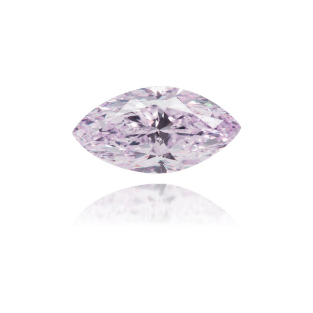 Natural Purple Diamond Marquise 0.68 ct Polished