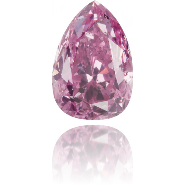 Natural Pink Diamond Pear Shape 0.47 ct Polished