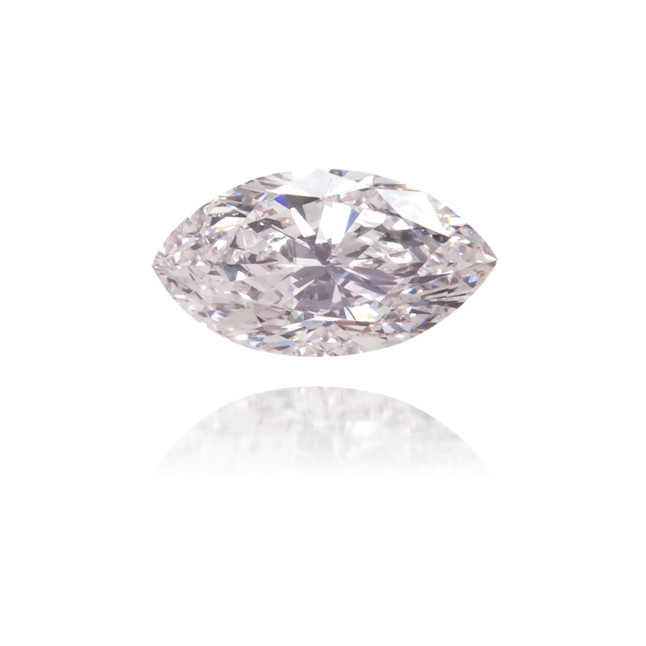 Natural Pink Diamond Marquise 0.14 ct Polished