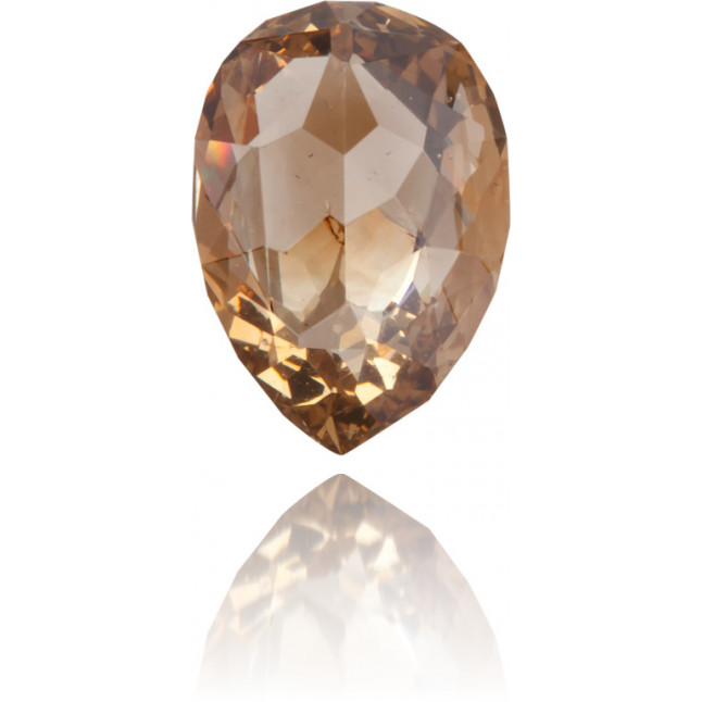 Natural Brown Diamond Briolet 0.98 ct Polished