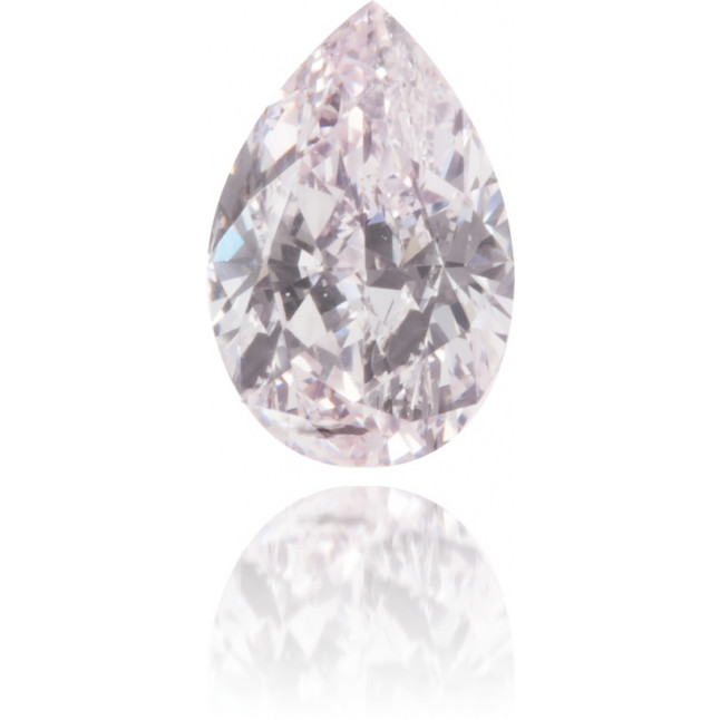 Natural Pink Diamond Pear Shape 0.45 ct Polished