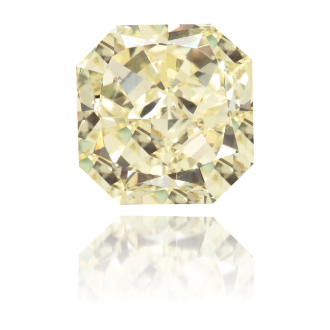 Natural Yellow Diamond Rectangle 2.05 ct Polished