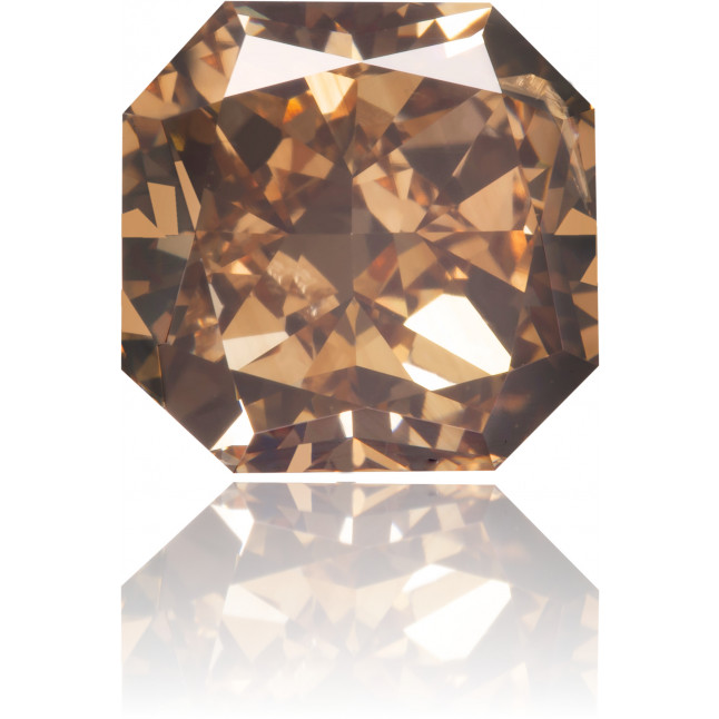 Natural Brown Diamond Square 3.11 ct Polished