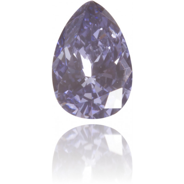 Natural Blue Diamond Pear Shape 0.12 ct Polished