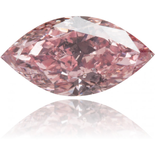 Natural Pink Diamond Marquise 0.38 ct Polished