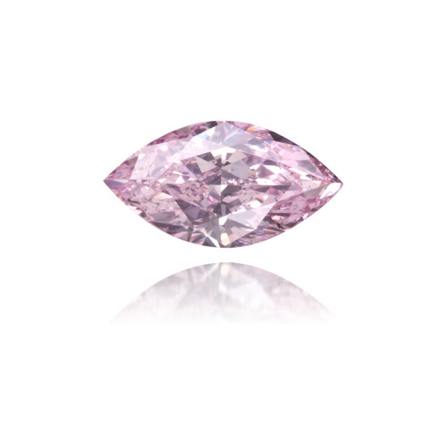 Natural Pink Diamond Marquise 0.30 ct Polished