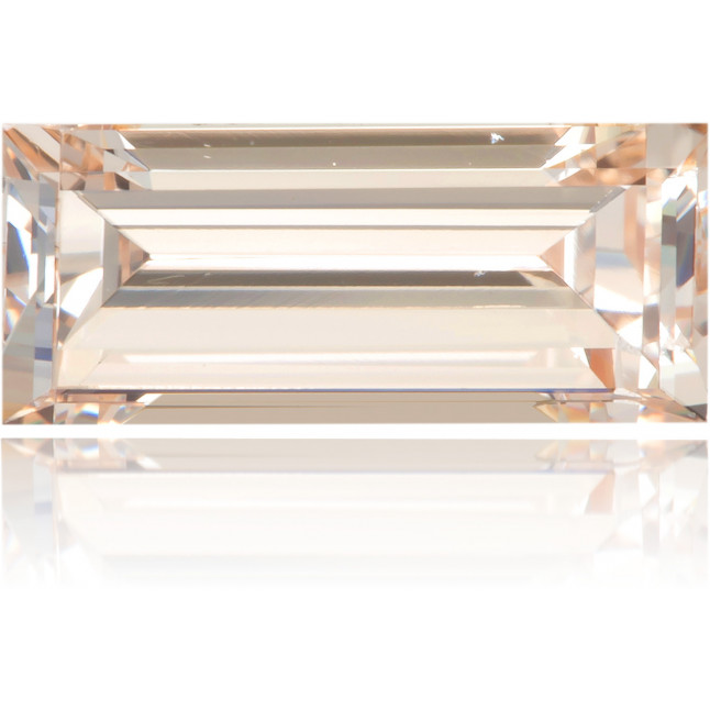 Natural Brown Diamond Baguette 0.87 ct Polished