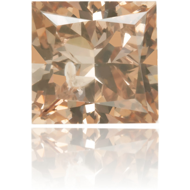 Natural Brown Diamond Square 0.31 ct Polished
