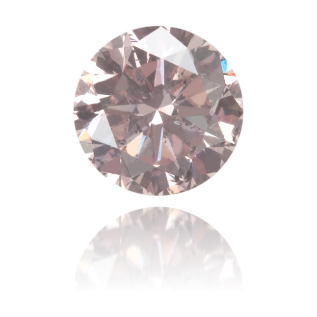Natural Pink Diamond Round 0.37 ct Polished