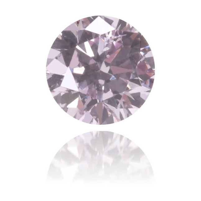 Natural Pink Diamond Round 0.17 ct Polished