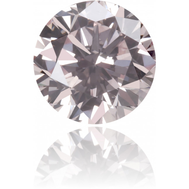 Natural Pink Diamond Round 0.27 ct Polished
