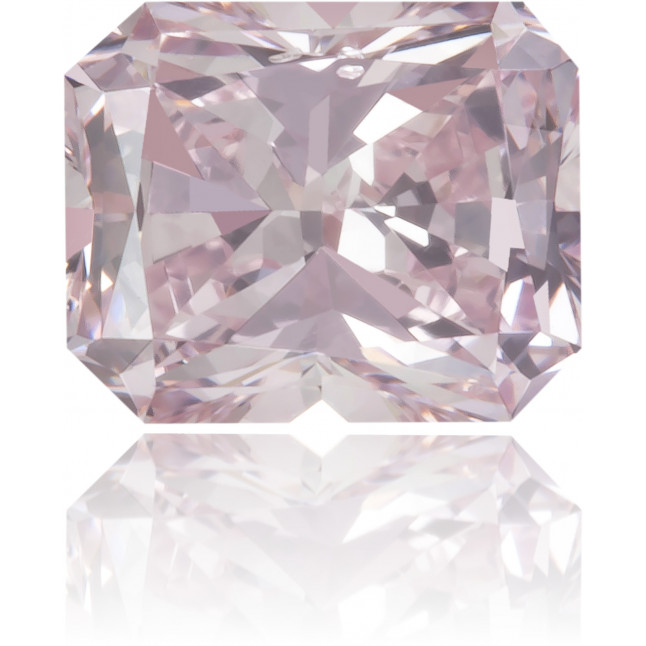 Natural Pink Diamond Rectangle 0.37 ct Polished