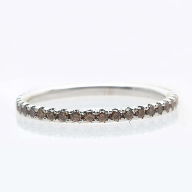 Chocolate Diamond Eternity Ring