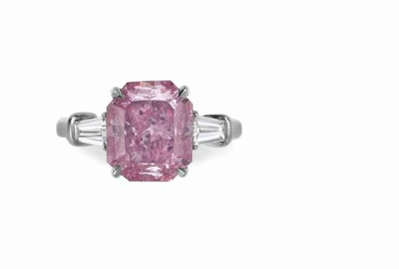 Fancy Vivid Purplish Pink diamond Christie's