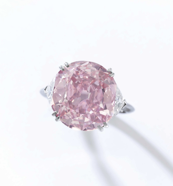 Natural Fancy Intense Pink Diamond - Sotheby's