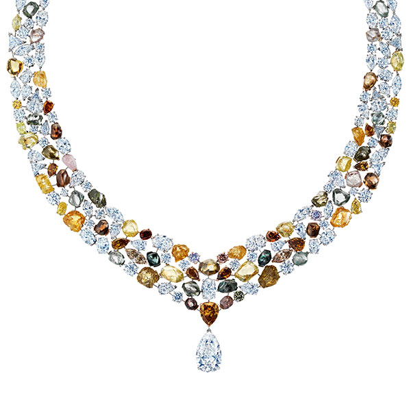 Rough Diamonds Lotus Collection De Beers