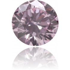 Natural Pink Diamond Round 0.22 ct Polished