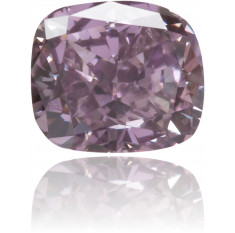 Natural Purple Diamond Rectangle 0.25 ct Polished