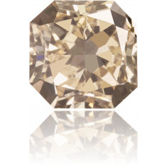 Natural Brown Diamond Rectangle 1.83 ct Polished