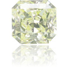 Natural Green Diamond Square 1.18 ct Polished