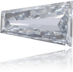 Natural Blue Diamond Baguette 0.30 ct Polished