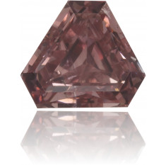 Natural Pink Diamond Triangle 0.31 ct Polished