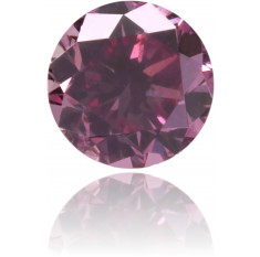 Natural Pink Diamond Round 0.13 ct Polished