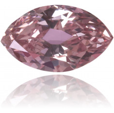 Natural Pink Diamond Marquise 0.15 ct Polished