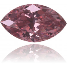 Natural Pink Diamond Marquise 0.17 ct Polished