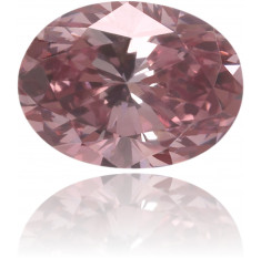 Natural Pink Diamond Oval 0.23 ct Polished