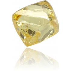 Natural Yellow Diamond Rough 0.74 ct Rough