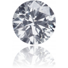 Natural Gray Diamond Round 0.40 ct Polished