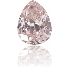 Natural Pink Diamond Pear Shape 0.60 ct Polished