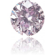 Natural Purple Diamond Round 0.64 ct Polished