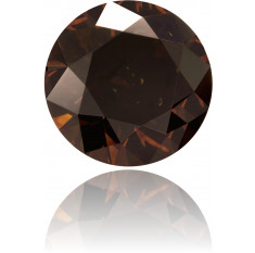 Natural Brown Diamond Round 2.17 ct Polished