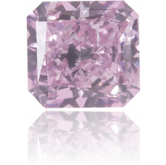 Natural Pink Diamond Square 0.22 ct Polished