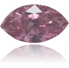 Natural Pink Diamond Marquise 0.18 ct Polished