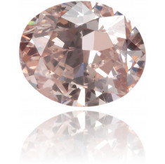 Natural Pink Diamond Oval 0.25 ct Polished