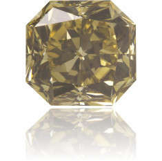 Natural Brown Diamond Square 2.33 ct Polished