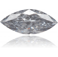 Natural Blue Diamond Marquise 0.25 ct Polished