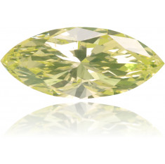 Natural Green Diamond Marquise 0.64 ct Polished