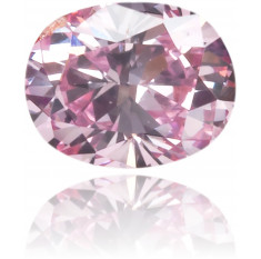Natural Pink Diamond Oval 0.09 ct Polished