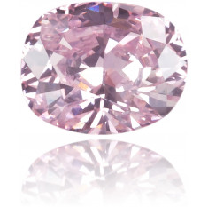 Natural Pink Diamond Oval 0.12 ct Polished