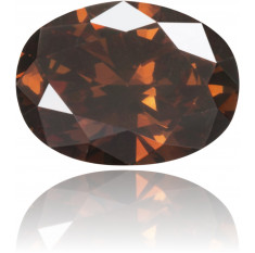 Natural Brown Diamond Oval 0.31 ct Polished