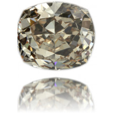 Natural Brown Diamond Square 7.55 ct Polished