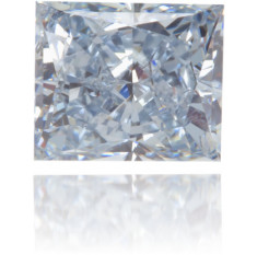 Natural Blue Diamond Rectangle 0.54 ct Polished