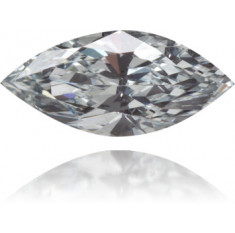 Natural Blue Diamond Marquise 0.44 ct Polished